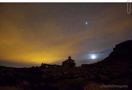 Trên đỉnh Tenerife về đêm - hy vọng sẽ có cơ hội quay lại. Credit: Bruce.