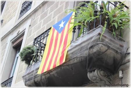 Cờ xứ Catalan.