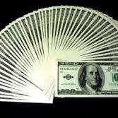 Fanning Bills OLD $100 US Dollar Bill