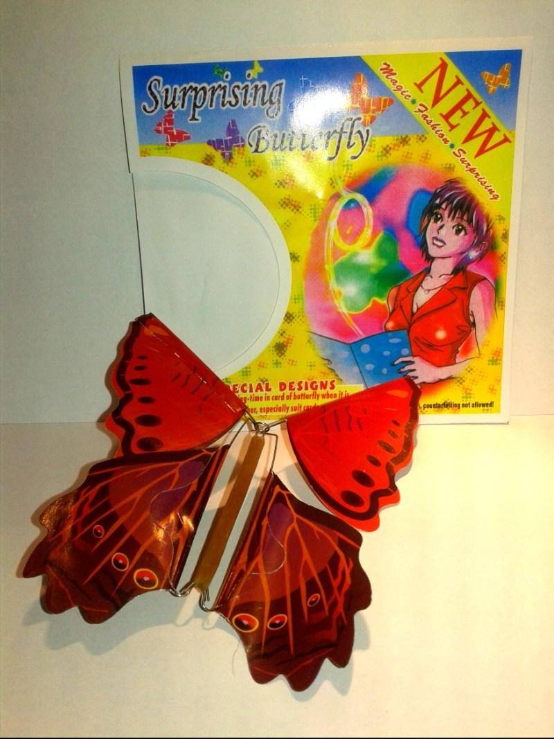 mariposa sorpresa voladora