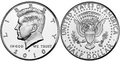 Moneda de Medio Dólar Kennedy