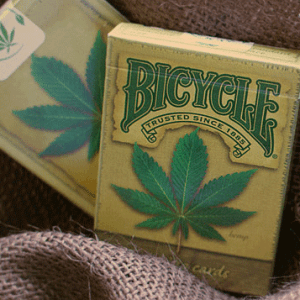 Baraja bicycle Cannabis- USPCC