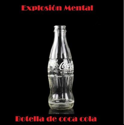 Truco de magia explosión botella coca cola