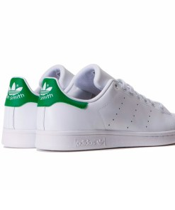 Zapatillas-Stan-Smith-Mujer-Blanco-Verde Moda 2019