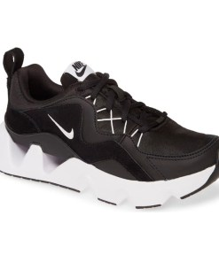 Tenis-Zapatillas-Air-Rys-365-Negro-Mujer