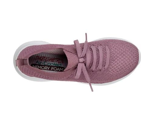 Tenis-Zapatillas-Dama-Mujer-Skecher-Ultra-Flex-Statements-Running-Fitnesss-2020-purpura moda