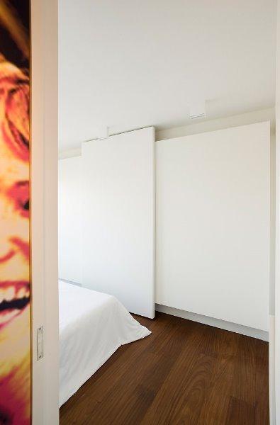 Zicht slaapkamer
