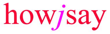 HOWJSAY.COM