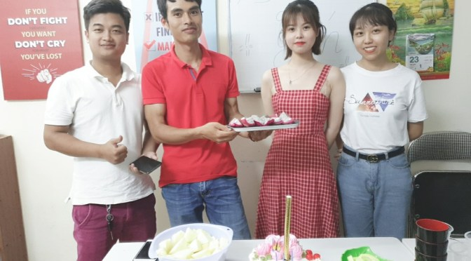 Phần thưởng cho học viên xuất sắc