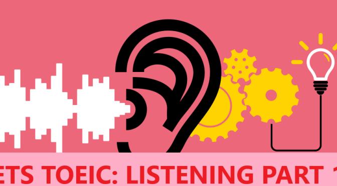 Listening Part 1- ETS TOEIC 2020.