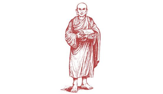 Tôn giả A Nan Đà nhập diệt.