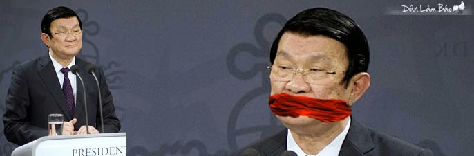 Bác Tuyên xe ôm (Danlambao): Khi Chủ tịch nước còn có thể bị bịt miệng thì sá gì thằng dân?