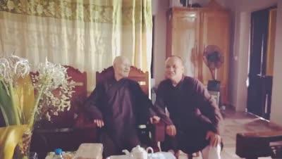 TT Thích Từ Giáo: ĐI TÌM THẦY! - Video và hình ảnh Đức Tăng Thống Thích Quảng Độ ngày 13 -10- 2018