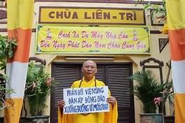 Thư HT Thích Không Tánh phúc đáp Bà Pamela Pontius - Tòa Lãnh Sự Quán Hoa Kỳ tại Tp. Saigon
