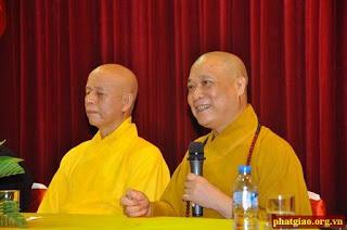 Thái Hoà và sư Bảo Nghiêm