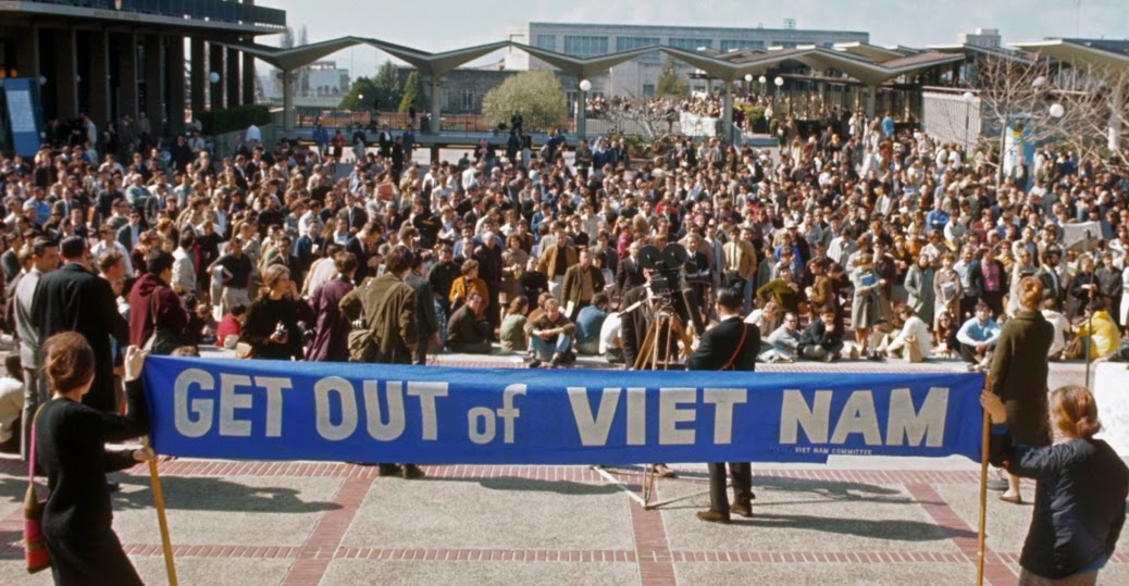 Demonstrations and protests against the Vietnam War (1)