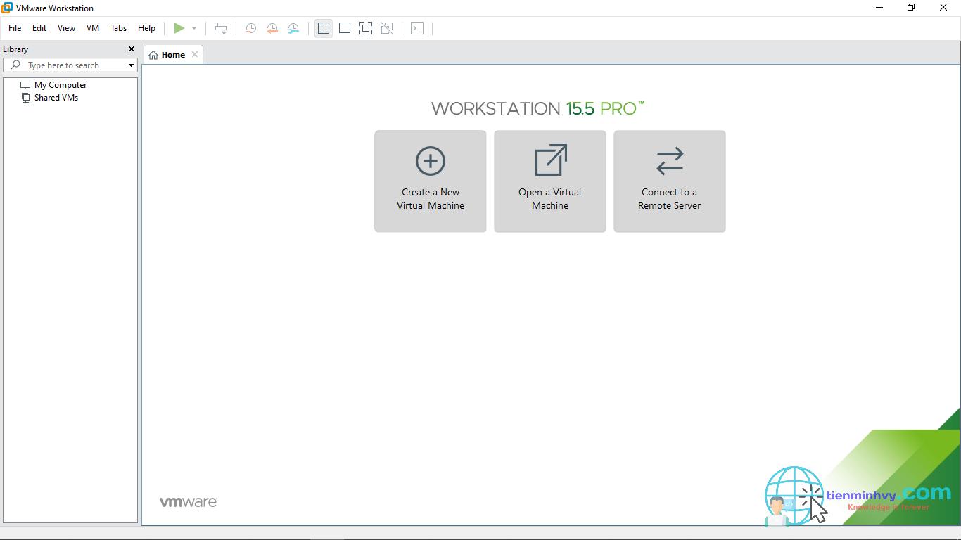 Key VMware Workstation 15.5 Pro bản quyền miễn phí