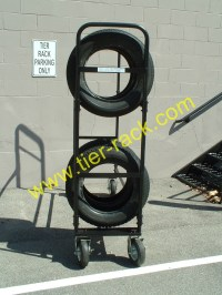 Motorcycle Tire Racks