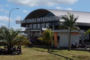 Lombok-Ankunft