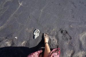 Lombok-Lavasand