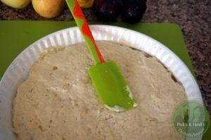 Apfel-Pflaumen-Joghurtstreusel-Kuchen