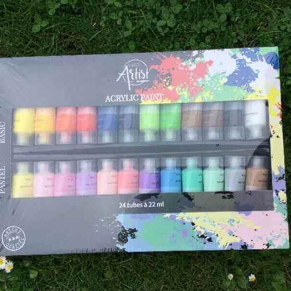 Acrylfarben 24 Tuben