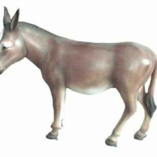 Deko Esel lebensgroß