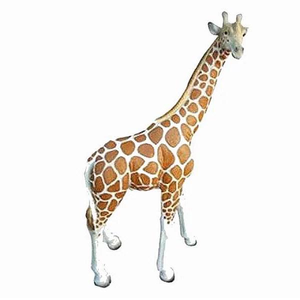 Deko Giraffe natuerlich bemalt