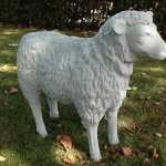 Schaf Rohling zum bemalen