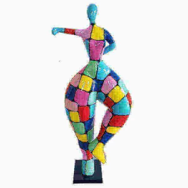 Deko Kunst Skulptur Nana laufend karo design