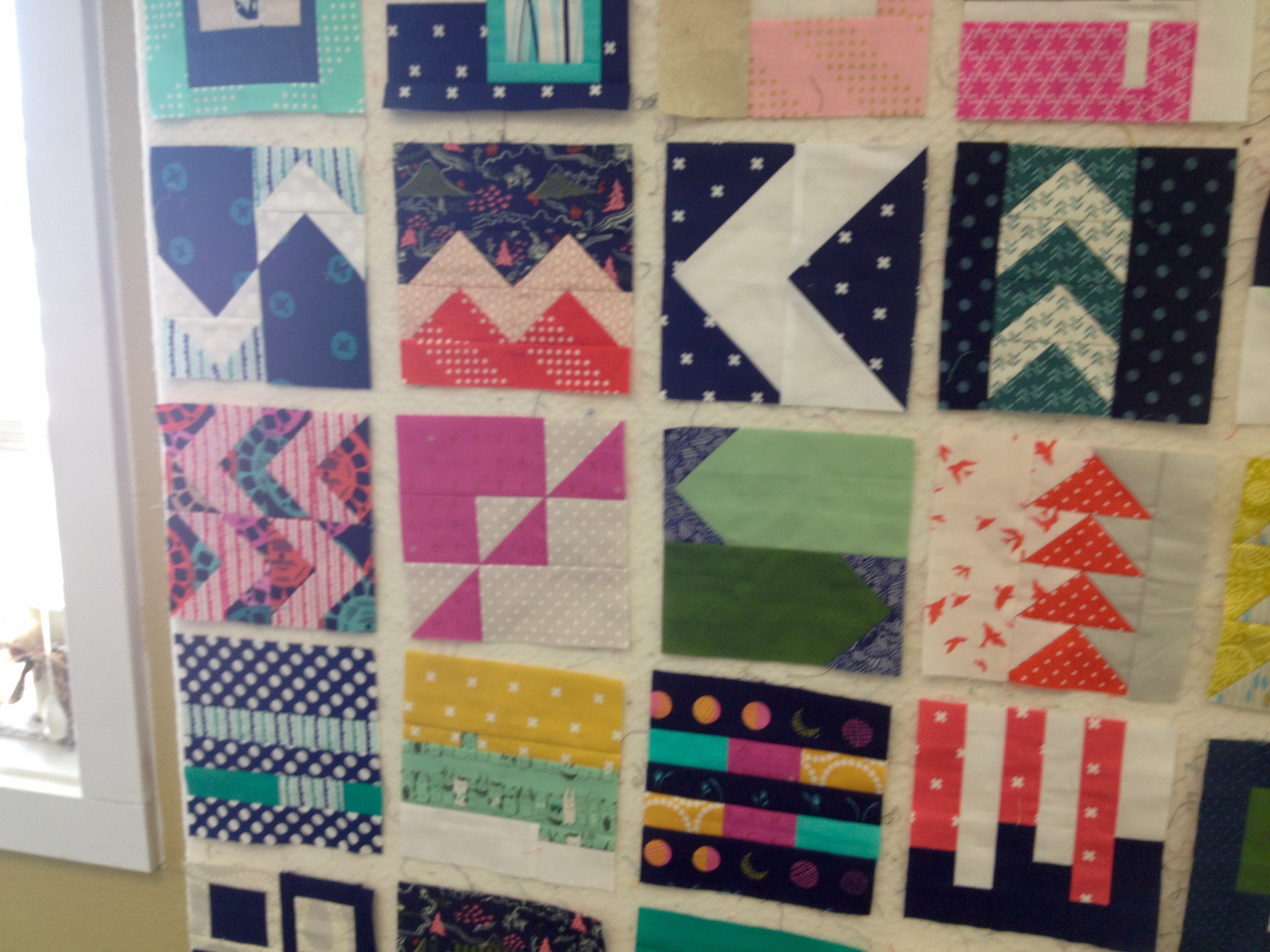 Quilt Retreat Weekend: The Projects