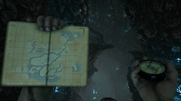 Mapa dentro de Ark