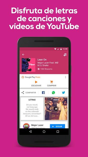 letras de canciones app android