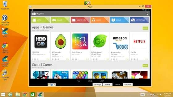 Andy OS Android para PC