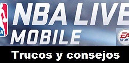 NBA LIVE Mobile Gratis para Android Trucos y Consejos