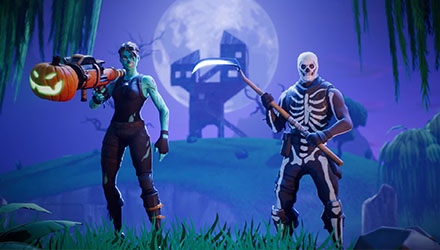 Skins de Hallowen en Fortnite