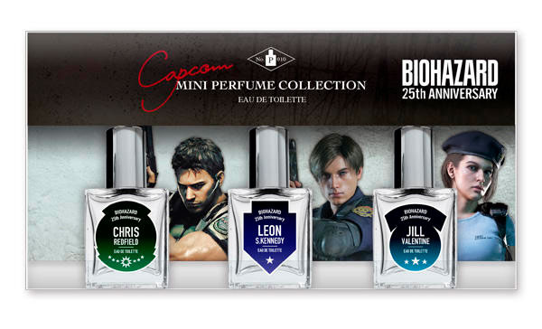 Resident Evil Perfumes