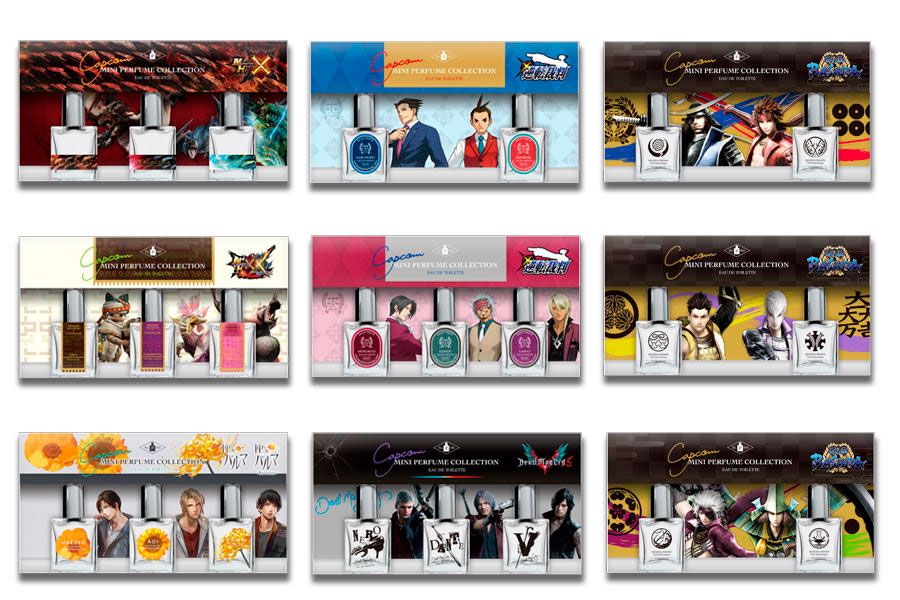 Capcom perfumes