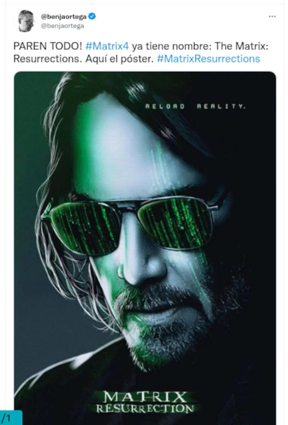 Matrix 4 has a name, date and description of its advance