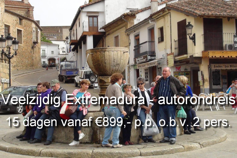 Een prachtige autorondreis door onbekend Extremadura, Spanje met steden, cultuur en natuur