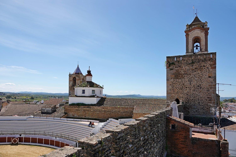 Bezoek tijdens je fietstocht in Extremadura cultuurhistorische bezienswaardigheden