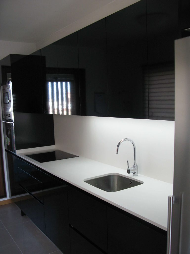 Cocina negra  Cocinas Vitoria  Tierra Home Design