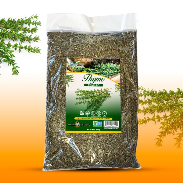 Tomillo Té Infusión 4 oz-113g Thyme Leaves