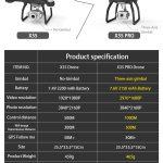 DRONE X35/X35 PRO ZANGÃO GPS COM WIFI 4K HD CÂMERA DE 3 EIXOS CARDAN PROFISSIONAL