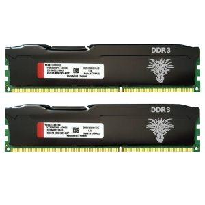 PENTE DE MEMÓRIA DDR3 4GB 8GB 1333MHz 1600MHz  PC3-10600 PC3-12800 240-PINOS COM COLETE DE REFRIGERAÇÃO