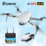 DRONE EACHINE EX5 ZANGÃO 4K GPS HD MINI CÂMARA PROFISSIONAL COM 5G WIFI