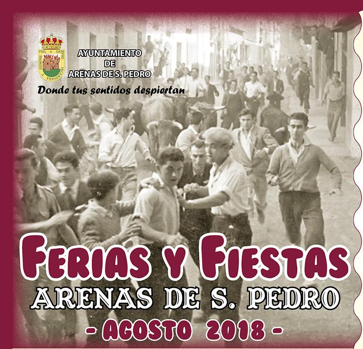 Programa de las Ferias y Fiestas de Agosto en Arenas de