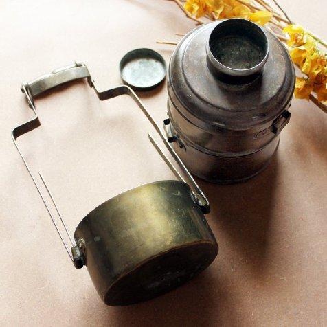 Vintage Brass Lunch Tiffin