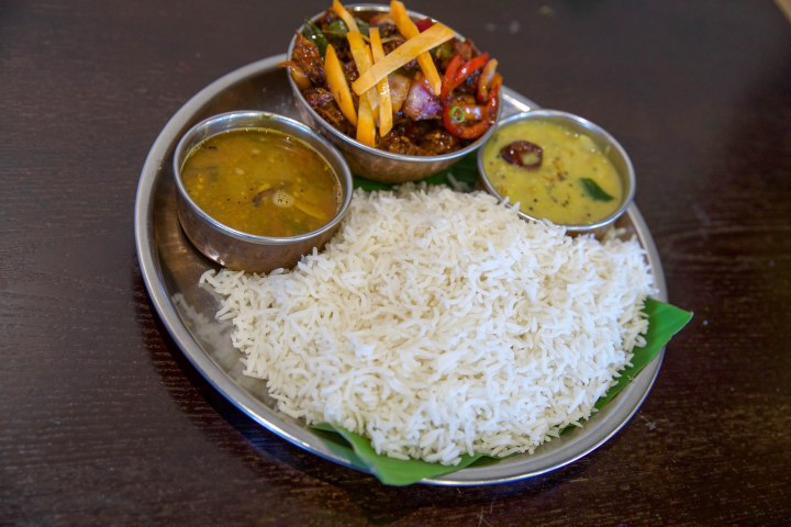 Lunch Special with Daal _ Rasam