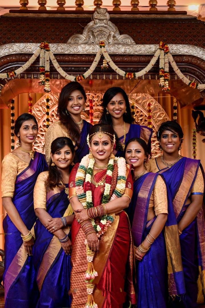 bridal party singapore-subra govinda